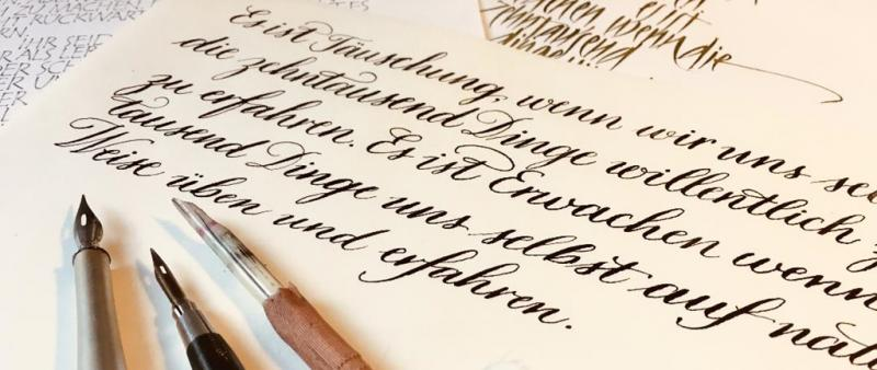 Kalligrafie Basics: Osterspecial