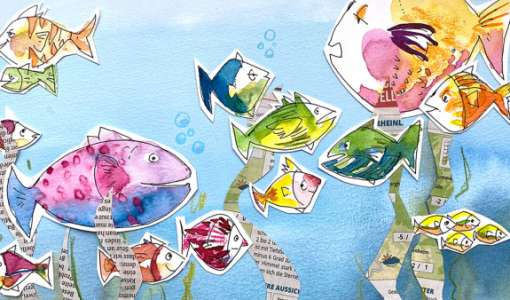 Mit Spaß zeichnen lernen: Wir schwärmen für Fische