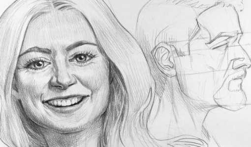 Ganz einfach - Gesichter Zeichnen