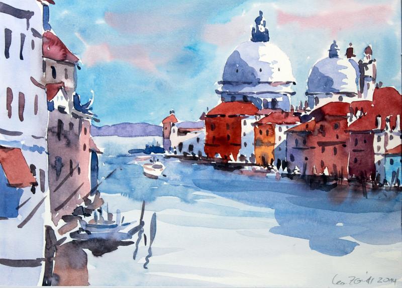 Aquarellmalreise nach Venedig
